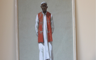 Watercolour Portrait of North African Man