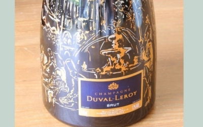 Duval-Leroy Champagne Bottle