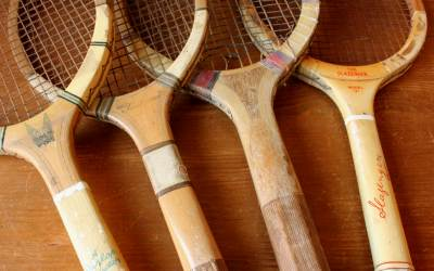 Four Tennis Rackets