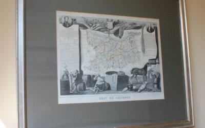 French Calvados Map