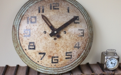 French Art Deco Wall Clock