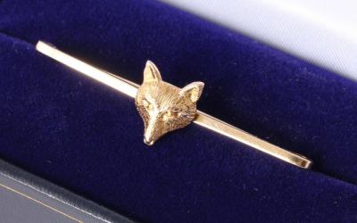 JGS Fox Brooch