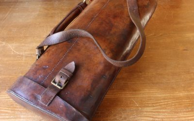 Leather Gun Case
