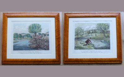 Fishing Aquatints