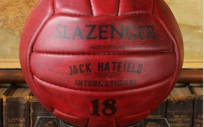 Red Slazenger Ball