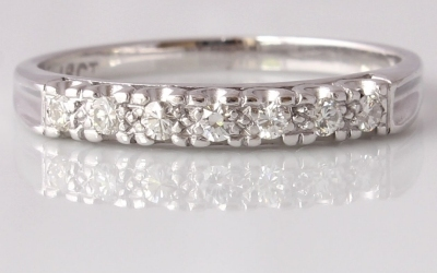 Seven Diamond Eternity Ring