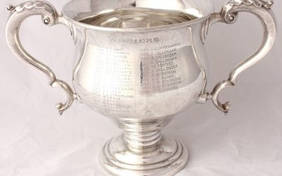 Silver Athletics Trophy