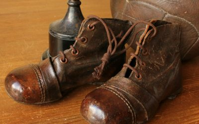 Small Brown Football Boots