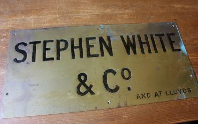 Stephen White Sign