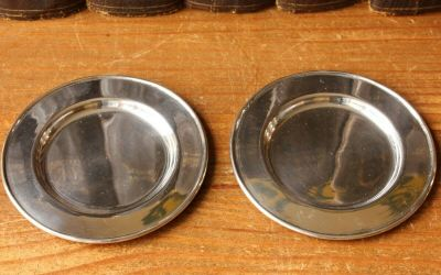 Two Chinese Silver Trays